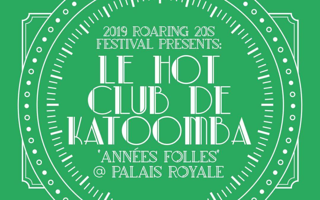 Le Hot Club de Katoomba   Roaring 20s Festival