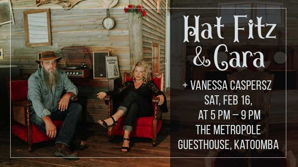 SOLD OUT – Hat Fitz & Cara + Vanessa Caspersz in concert Blue Mountains