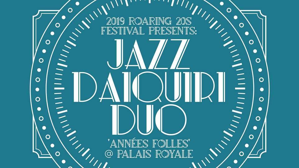 Jazz Daiquiri Duo | Roaring 20s Festival
