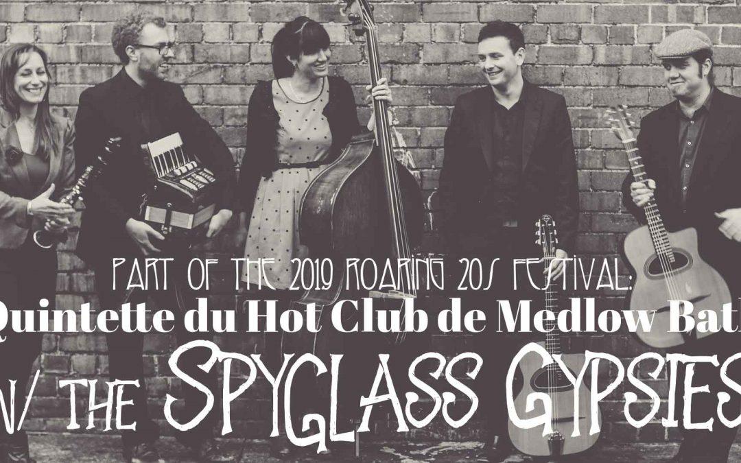 Quintette du Hot Club de Medlow Bath w/ The Spyglass Gypsies