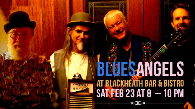 BluesAngels at Blackheath Bar & Bistro