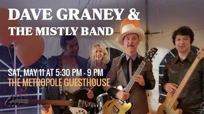 Dave Graney & the mistLY band in concert Blue Mountains