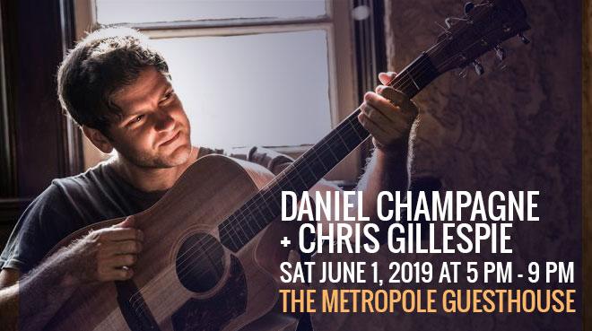 Daniel Champagne + Chris Gillespie in concert Blue Mountains