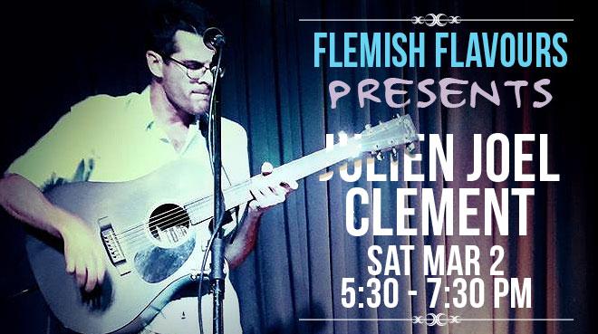 Julien Joel Clement | Live at Flemish Flavours #2
