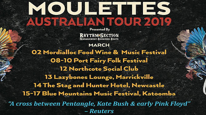 Moulettes Australian Tour | Blue Mountains Music Festival