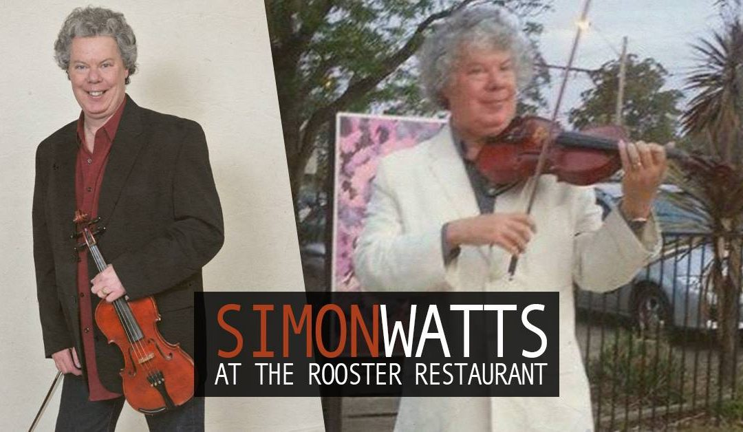 Simon Watts at The Rooster Restaurant