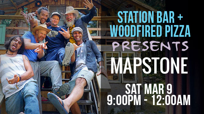 Mapstone at the Station Bar