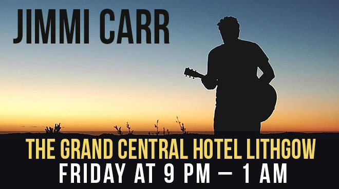 Jimmi Carr at The Grand Central Hotel