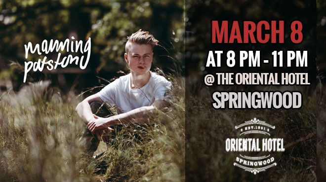 Manning Patston at The Oriental Hotel