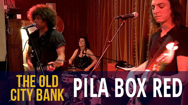 Pila Box Red   The Old City bank