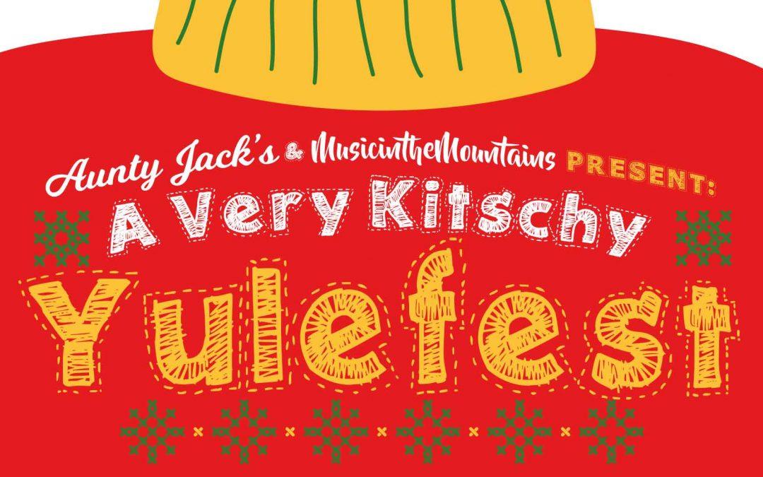 A Very Kitschy Yulefest | Three-Course Meal w/ Lisa Finn Powell | Aunty Jack's