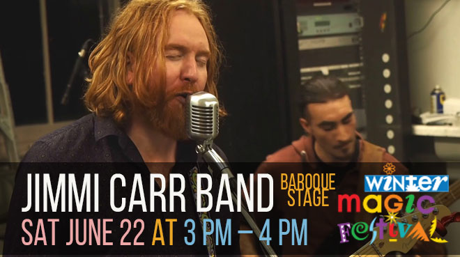 Jimmi Carr Band at The Baroque   Winter Magic Festival