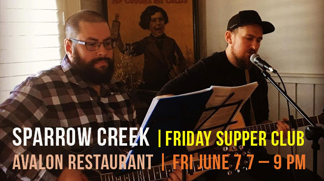 Friday Supper Club with Sparrow Creek
