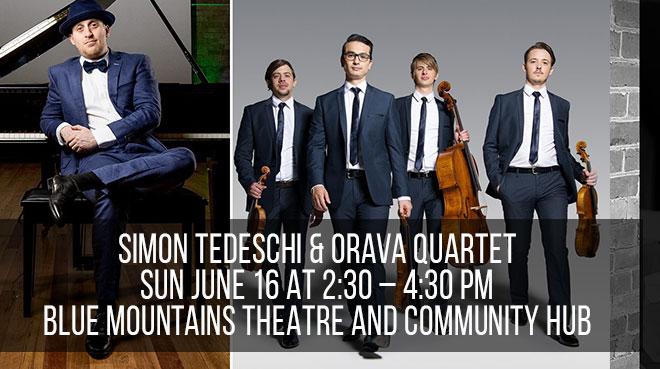 Simon Tedeschi & Orava Quartet