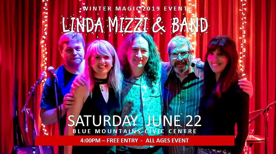 Linda Mizzi & Band at the Civic Centre | Winter Magic Festival