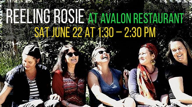 Reeling Rosie at Avalon   Winter Magic Festival