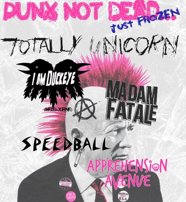 Punx Not Dead… Just Frozen | Hosted by Fat Rat Prom | Baroque Room