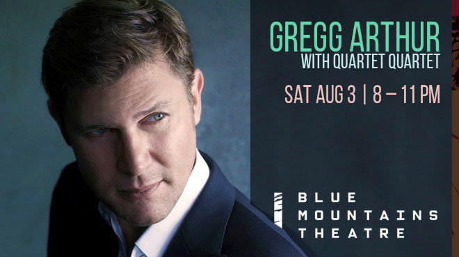 Gregg Arthur with Quartet Quartet | Blue Mountains Theatre and Community Hub