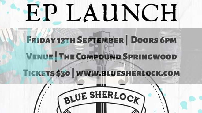 Blue Sherlock EP Launch | The Compound