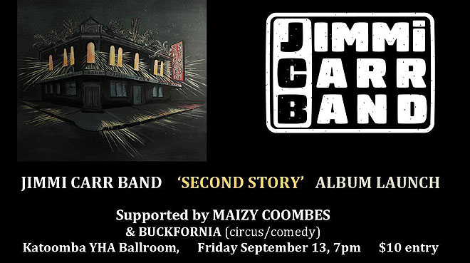 Jimmi Carr Band Album Launch | Blue Mountains YHA