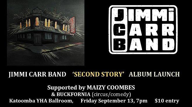 Jimmi Carr Band Album Launch | Blue Mountains YHA