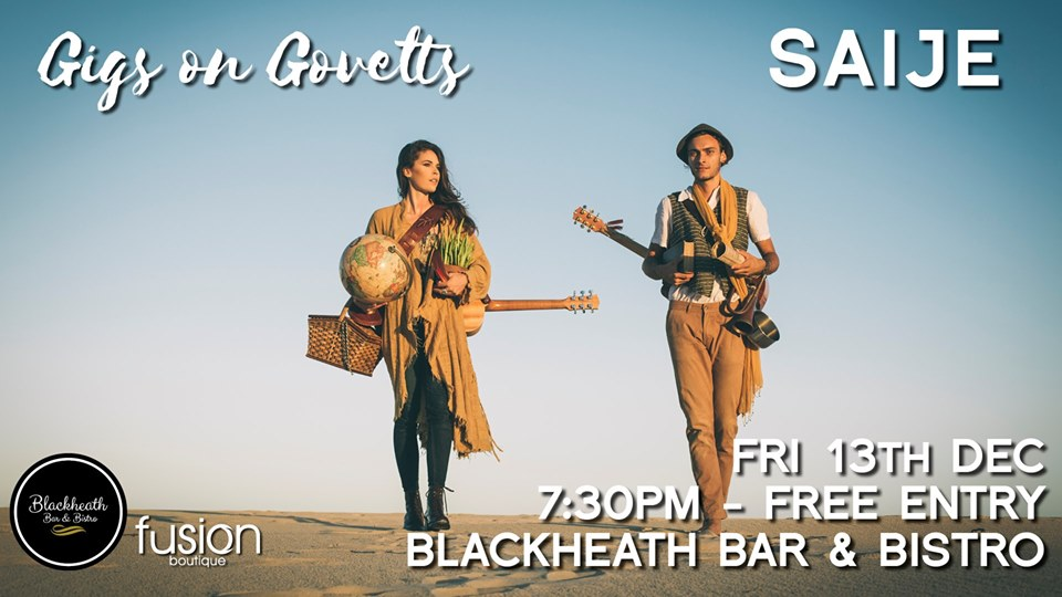 Gigs on Govetts – SAIJE (Bellingen)   Blackheath Bar & Bistro