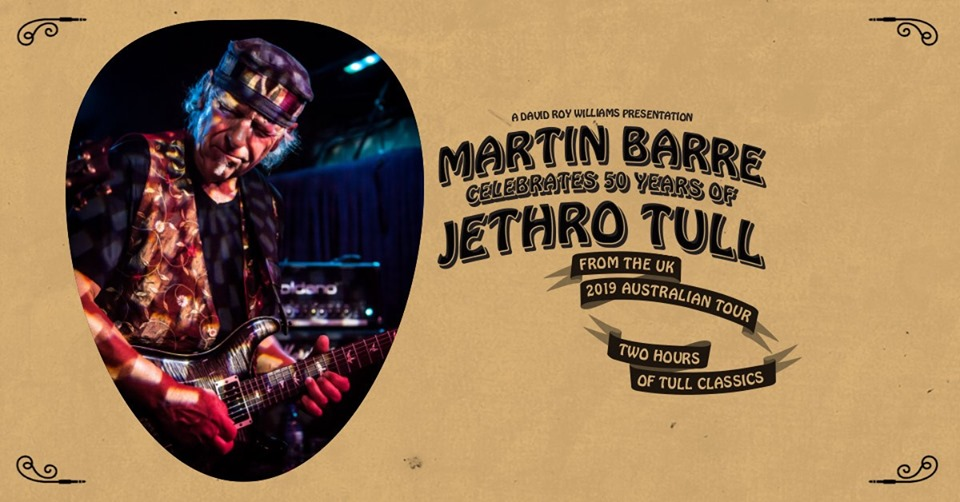 Martin Barre (Jethro Tull) Springwood | Blue Mountains Theatre and Community Hub