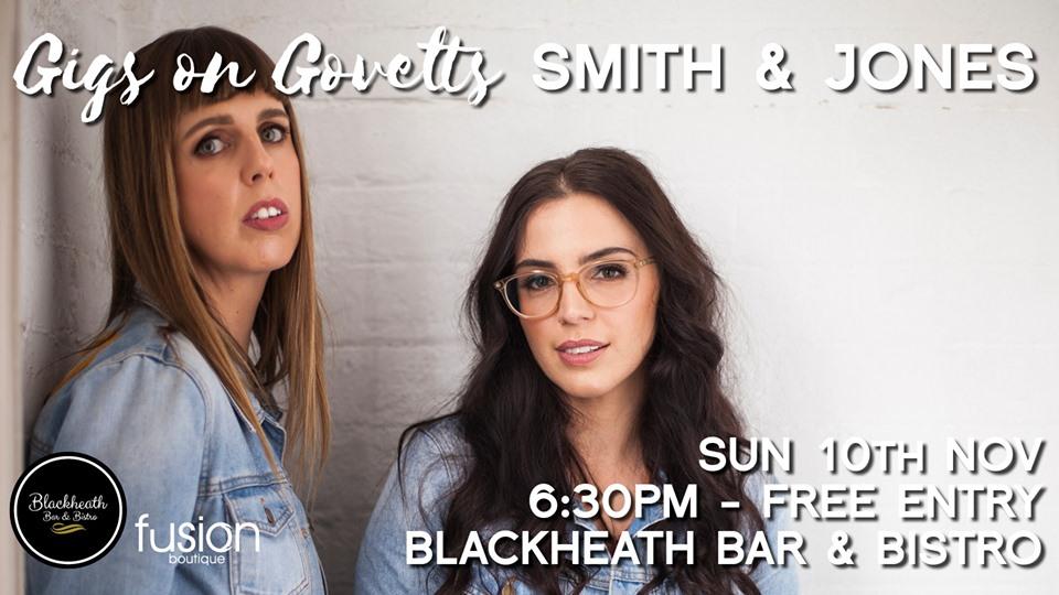 Gigs on Govetts – Smith & Jones (Bathurst)   Blackheath Bar & Bistro