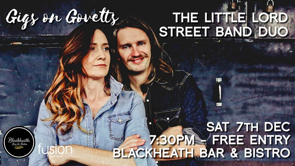 Gigs on Govetts -The Little Lord Street Band Duo (Perth) | Blackheath Bar & Bistro