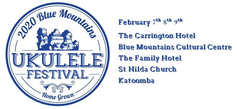 The Blue Mountains Ukulele Festival 2020 | The Carrington Hotel