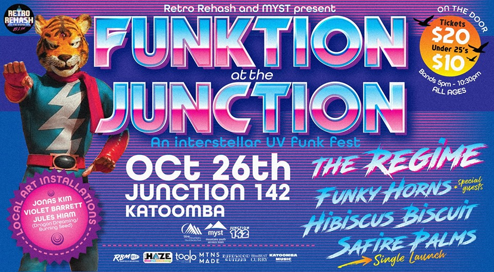 Funktion at the Junction UV party Feat. The Regime | Junction 142