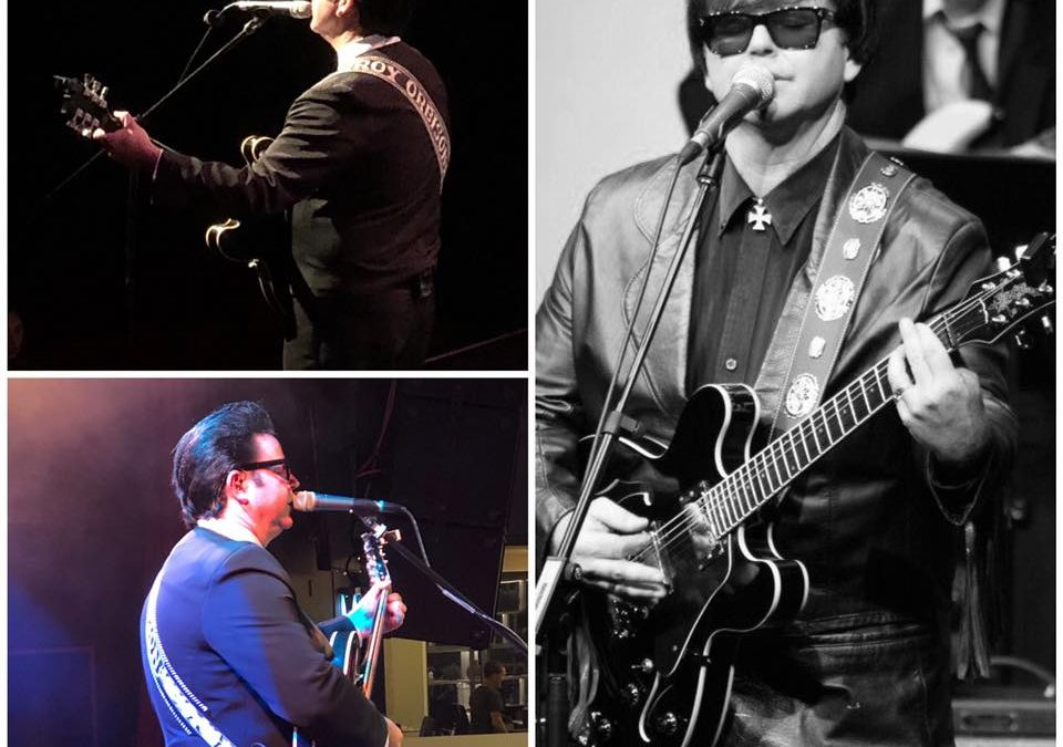 """Roy Orbison """"Reborn"""" starring Dean Bourne 