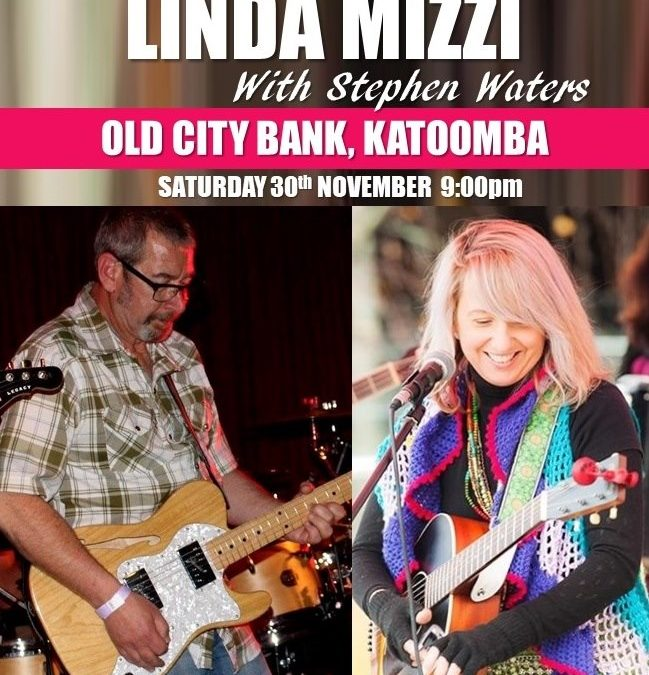LINDA MIZZI with Stephen Waters   The Old City Bank