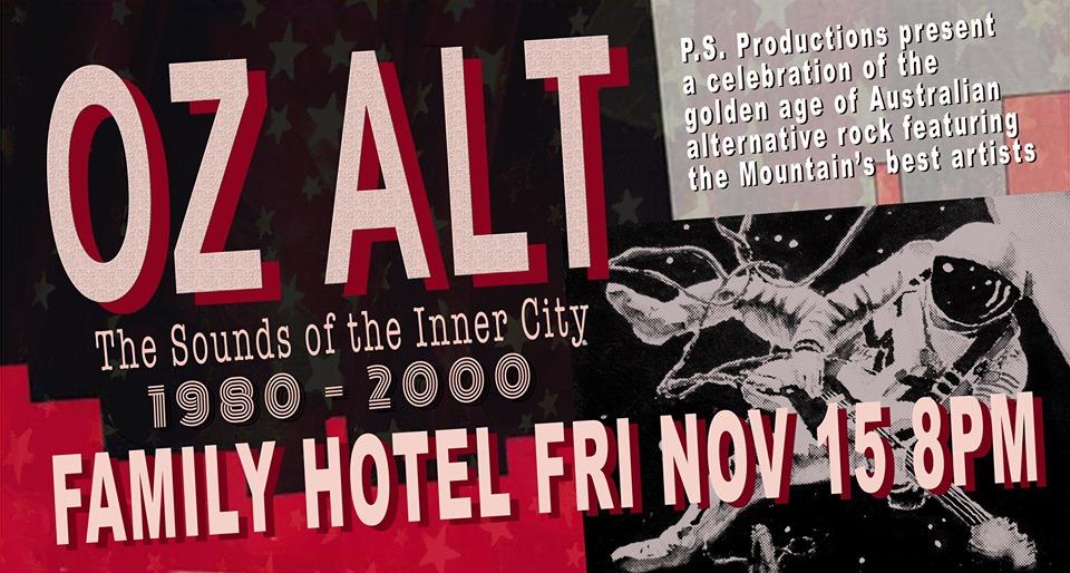 Oz Alt – The Sounds of the Inner City | Katoomba Family Hotel