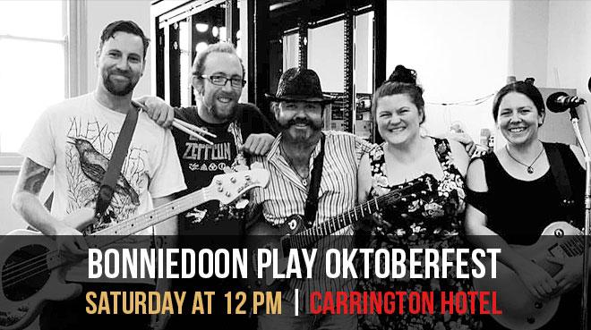 Bonniedoon | Oktoberfest | The Carrington Hotel