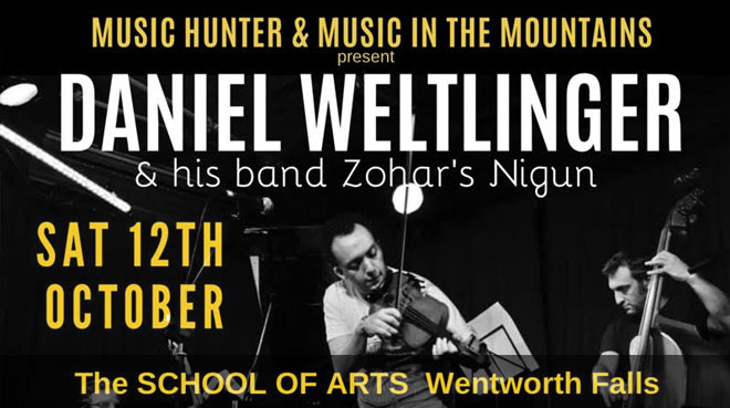 Daniel Weltlinger | 'Szolnok' Album Release | Wentworth Falls School Of Arts