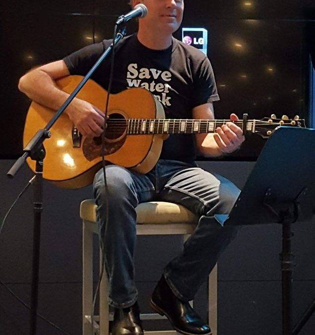 Pete Van Sint Jan live at your local   Blackheath Bar & Bistro