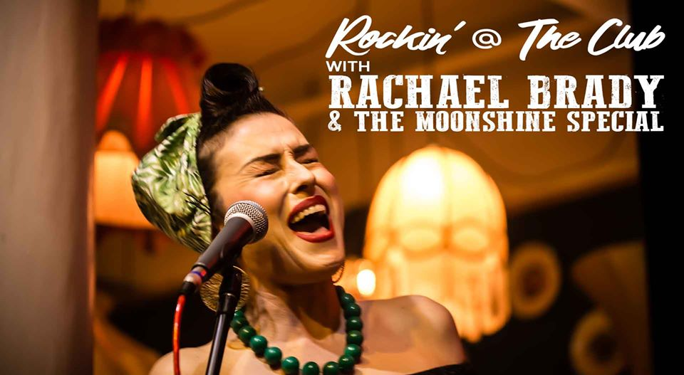 Rachael Brady & The Moonshine Special: Rockin' at The Club | Wentworth Falls School Of Arts