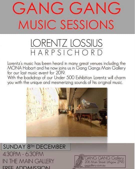 Lorentz Lossius – Harpsichord |  GANG GANG gallery