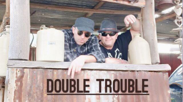DOUBLE TROUBLE – Australia Day Entertainment  | Club Lithgow – Lithgow City Bowling Club