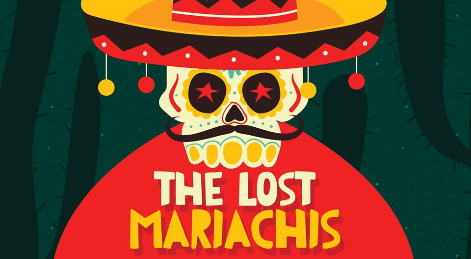 The Lost Mariachis: Slack-Off Sundays   Aunty Ed's Katoomba