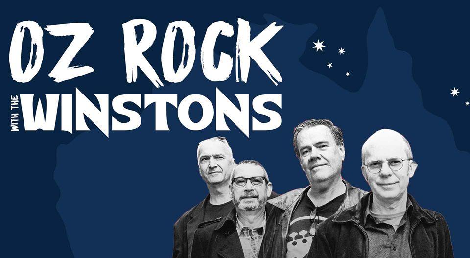 OZ Rock w/ The Winstons: Australia Day  | Aunty Ed's Katoomba