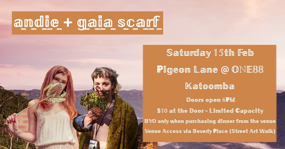 Andie + Gaia Scarf / HOME TOWN SHOW   Pigeon Lane@ONE88