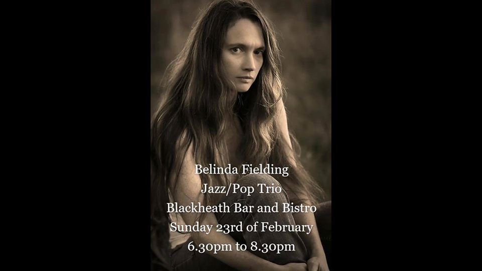 Belinda Fielding Jazz/Pop Trio | Blackheath Bar & Bistro
