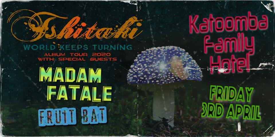 Tshitaki 'WKT' Katoomba + Madam Fatale & Fruit Bat| Katoomba Family Hotel