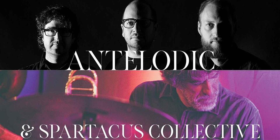 """POSTPONED Antelodic """"To Iceland!"""" Tour & Spartacus Collective 