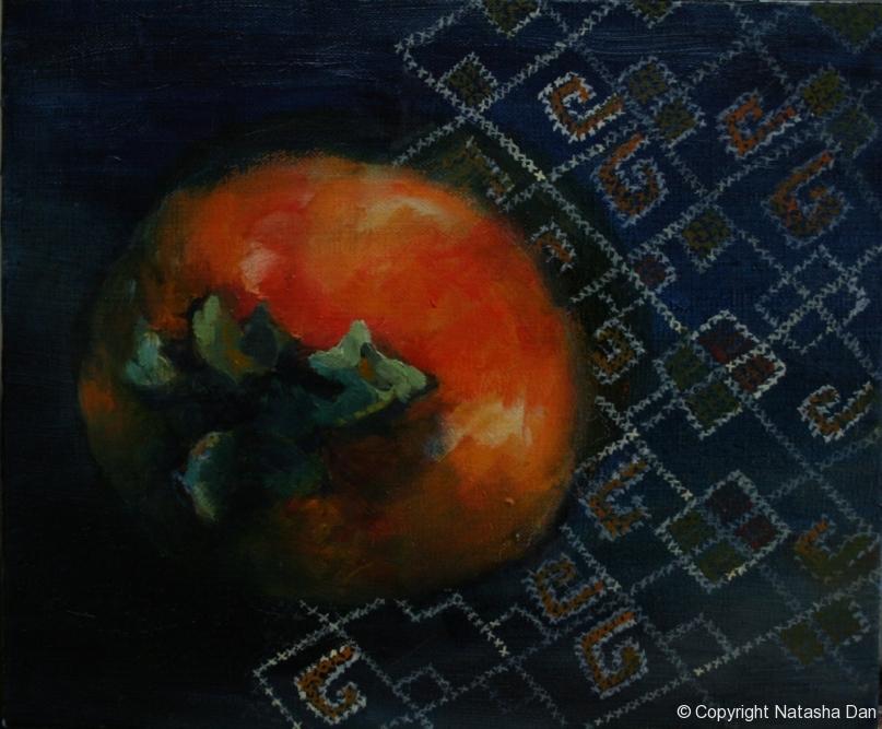 Persimmon-oil-25x35-cm