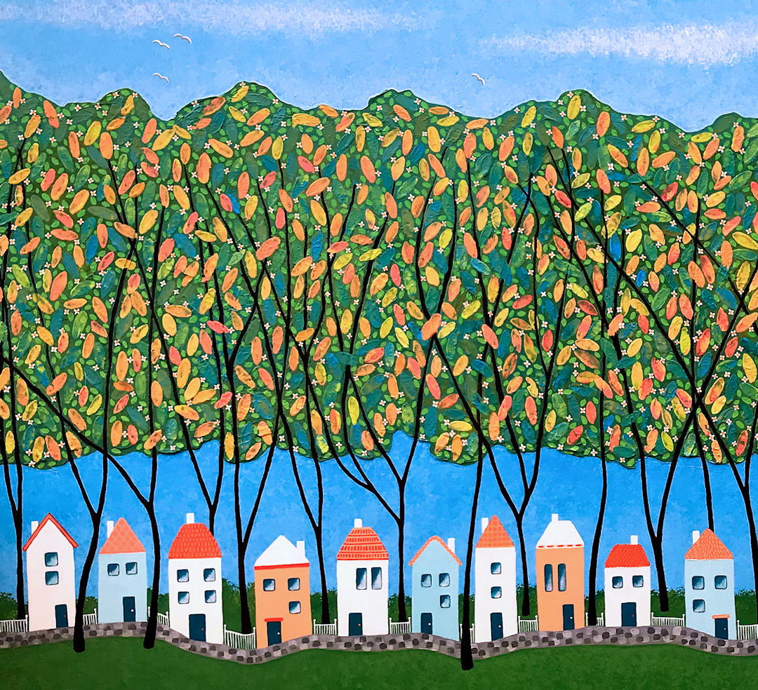 Tiny-Town-Under-The-Autumn-Trees-no.1-by-Lisa-Frances-Judd-72dpi-best-1