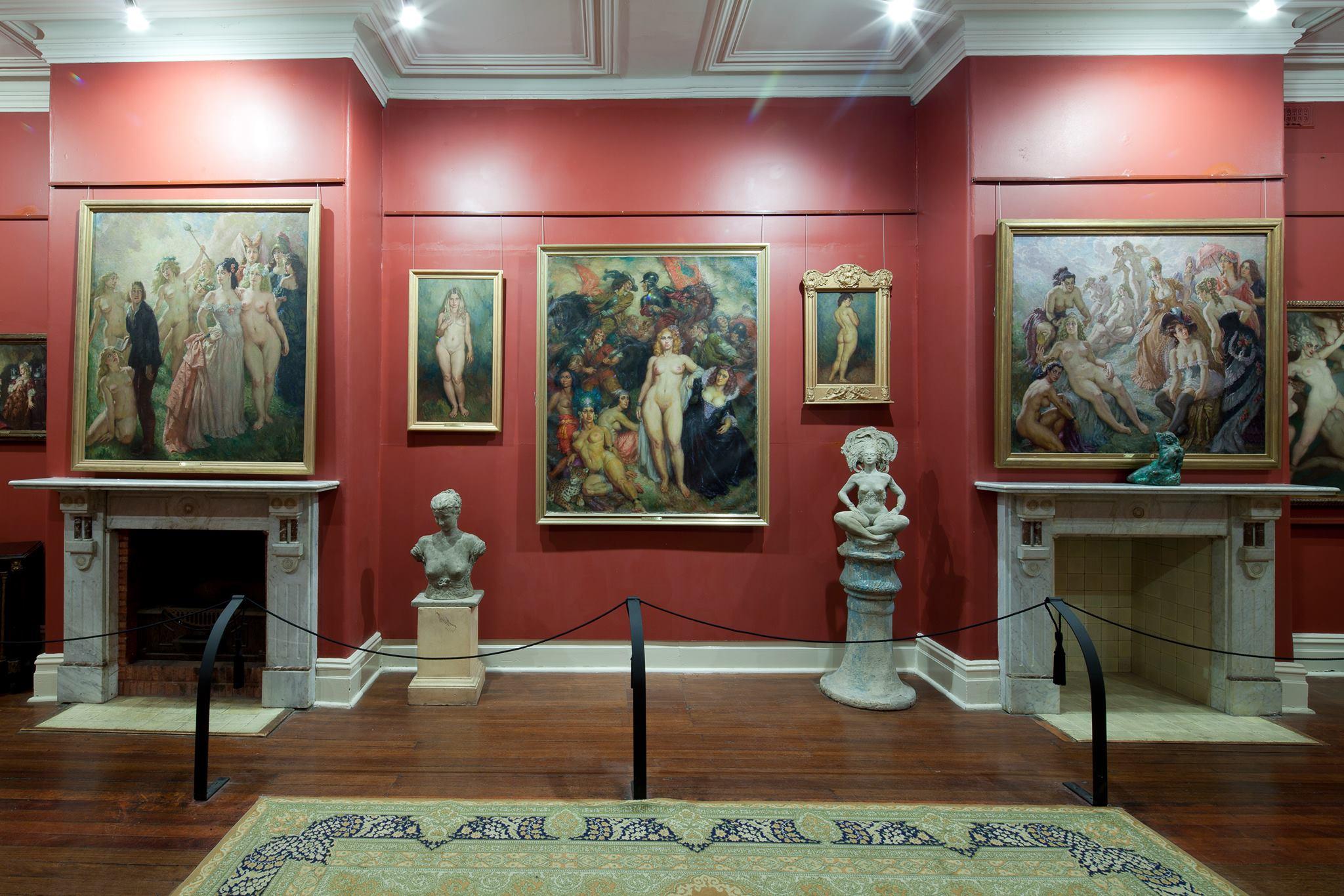 Between Friends   Norman Lindsay Gallery & Museum